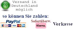 Versand in Deutschland möglich
