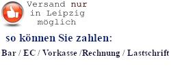 Versand nur in Leipzig möglich