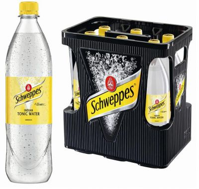 Schweppes Tonic Water 6x1,0l