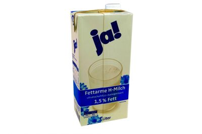 Ja H-Milch 1,5% Tetrapack (1x1 l)