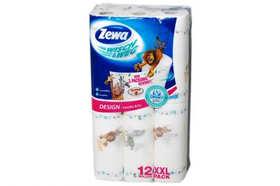 Zewa Wisch & Weg Design 12x45 Blatt