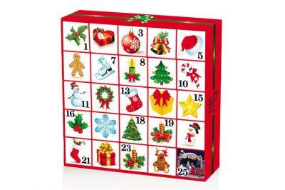 English Tea Shop Christmas Ornaments Adventskalender