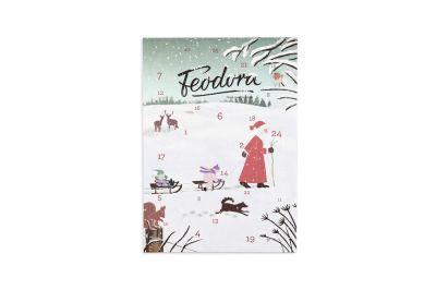 Feodora Adventskalender Weihnachtsmann (180g)