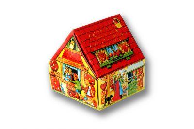 Frenzel Pulsnitzer Lebkuchen-Haus Rot 1x100g