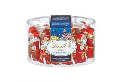 Lindt Mini-Weihnachtsmann Vollmilch 20x10g Dose