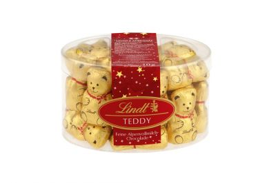 Lindt Mini-Teddy Vollmilch 20x10g Dose