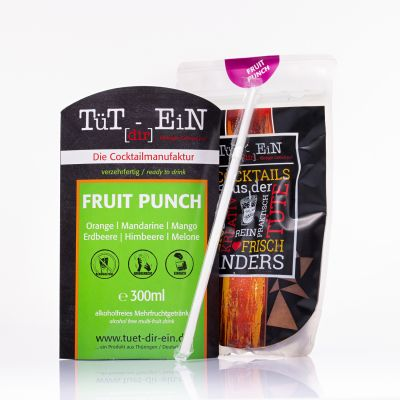 TüTdirEin Fruit Punch alkoholfrei (300ml)