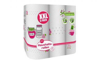 XXL Pack Küchenpapier 3-lagig (6x90Blatt)