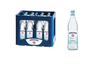 Gerolsteiner Mineralwasser Medium (12x0,75l)