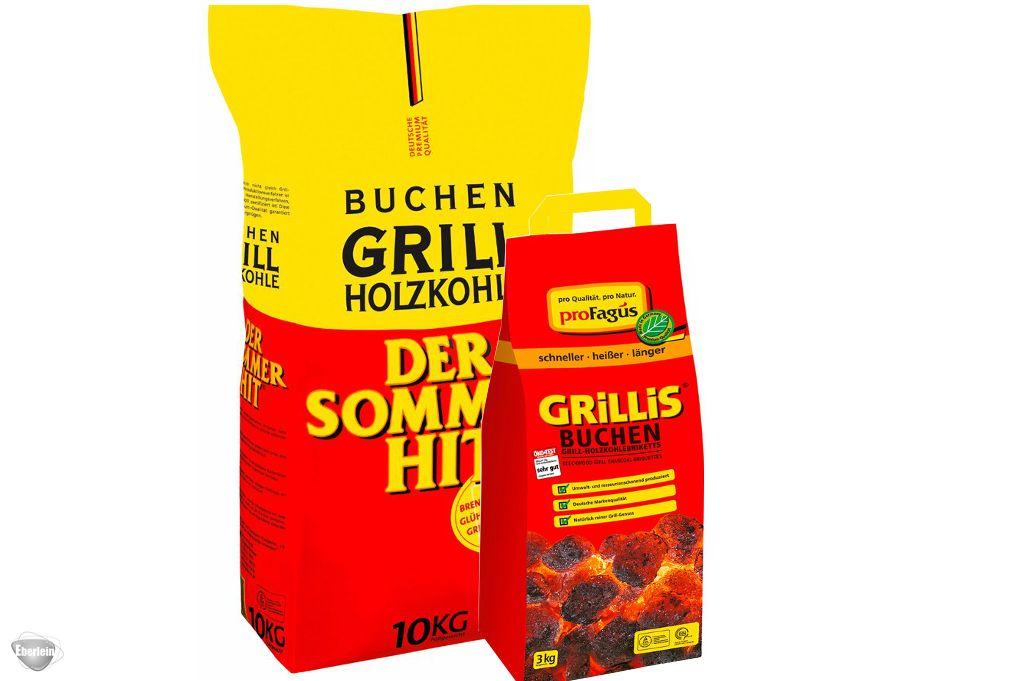 profagus buchen grill holzkohle 1x10kg eberlein shop. Black Bedroom Furniture Sets. Home Design Ideas