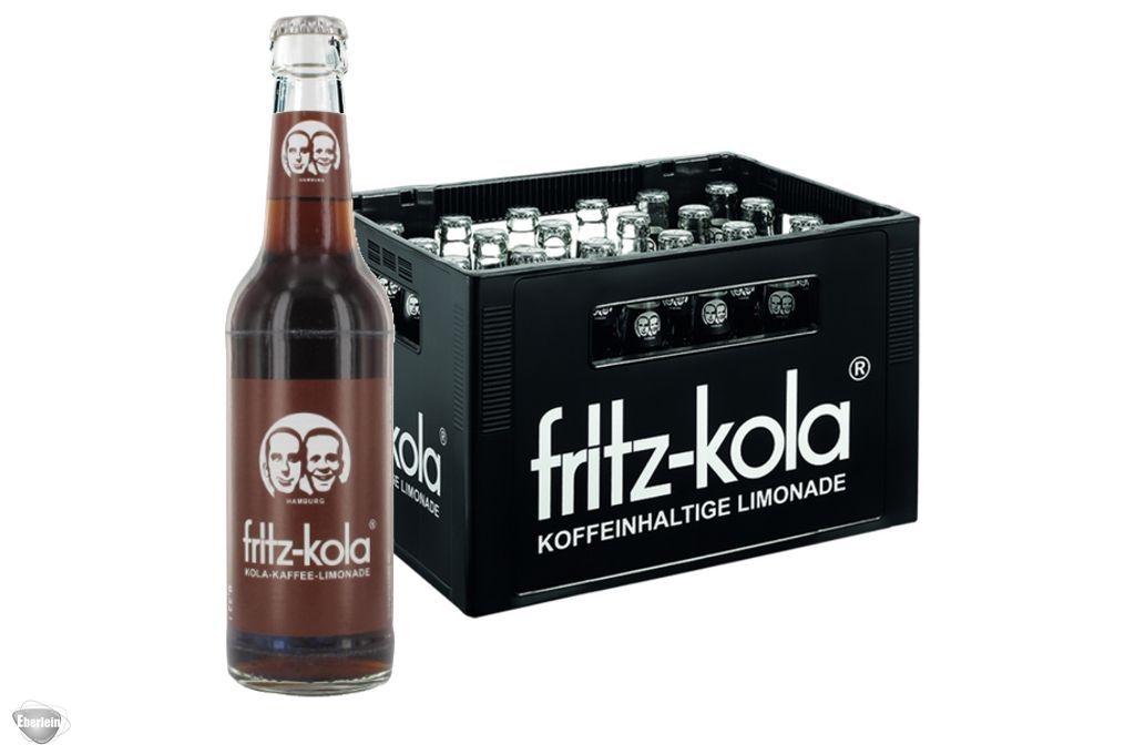 Fritz Kola Karamell Kaffee Limonade 24x033l Eberlein Shop