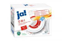 Ja Geschirr-Reiniger 12in1 Tabs (40x18 g)