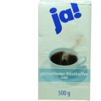 Ja gemahlener Röstkaffee mild (gemahlen) 1x500g