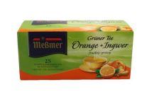 Meßmer Grüner Tee Orange-Ingwer 1x25 Beutel