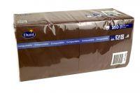 Duni Servietten 33x33 3-lagig plum 1x250 Blatt