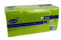 Duni Servietten 33x33 3-lagig herbal grün 1x250 Blatt