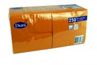 Duni Servietten 33x33 3-lagig orange 1x250 Blatt
