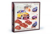 Classic Wheels Belgian Chocolate Milk Cars 200g