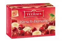 Teehaus Kirsch-Banane (40x2,25 g)