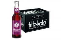 Fritz spritz Bio-Traubensaftschorle 24x0,33l