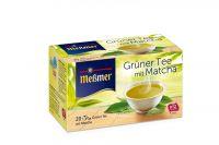 Meßmer Grüner Tee mit Matcha 20x1,5g Beutel
