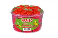 Haribo Riesen-Erdbeeren 150 Stk (1350g)