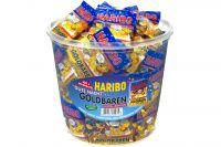 Haribo Gute Nacht Goldbärchen (980g) Dose 100 Minibeutel eP