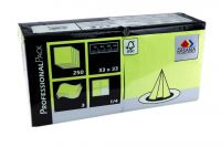 Fasana Servietten 33x33 3-lagig lime green (250Blatt)