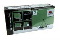 Fasana Servietten 33x33 3-lagig emerald green (250Blatt)