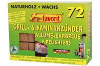 favorit Grill- & Kaminanzünder 72Stk.