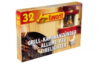 favorit Grill- & Kaminanzünder 32Stk.