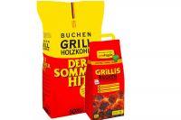 proFagus Grillis Buchen Grillbriketts 3kg
