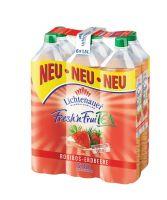 Lichtenauer Fresh'n Fruity Tea Rooibos-Erdbeere EW 6x1,5l