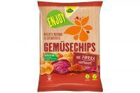 Kühne Enjoy Gemüse Chips Paprika 75g