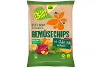 Kühne Enjoy Gemüse Chips Kräuter 75g