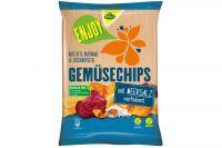 Kühne Enjoy Gemüse Chips Meersalz 75g