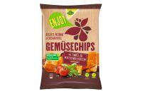 Kühne Enjoy Gemüse Chips Tomaten & Mediterane Kräuter 75g