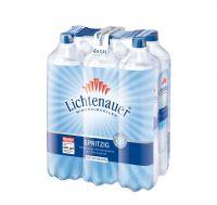 Lichtenauer Mineralwasser spritzig EW 6x1,5l