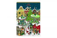 Hachez Adventskalender Weihnachtsmarkt (250g)