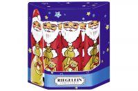 Riegelein Weihnachtsmann massiv 10x12,5g
