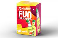 Berentzen Fun Apfel Minis 18% vol PET (10x20ml)