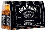 Jack Daniel's Old No.7 Tennessee Whiskey 40% vol (10x50ml)
