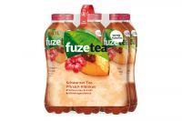Fuze Tea Schwarzer Tee Pfirsich Hibiskus (6x1l)