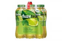 Fuze Tea Grüner Tee Limette Minze (6x1l)