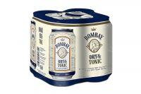 Bombay Dry & Tonic 10% vol (4x0,33l)