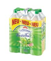 Lichtenauer Fresh'n Fruity Tea Grüntee Limette EW 6x1,5l