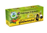 Goldmännchen Thüringer 9-Kräutertee 1x25 Beutel