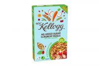 W.K.Kellogg Crunchy Müsli Apple, Carrot & Raspberry (380g)